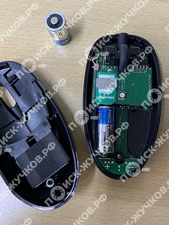 GSM-жучок с сим-картой в компьютерной мышке