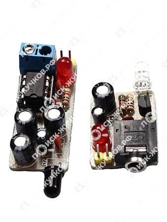 Инфракрасная прослушка: ИК-передатчик и ИК-приемник